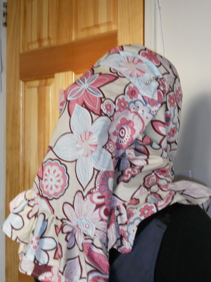 Ruffled Hijab Tutorial