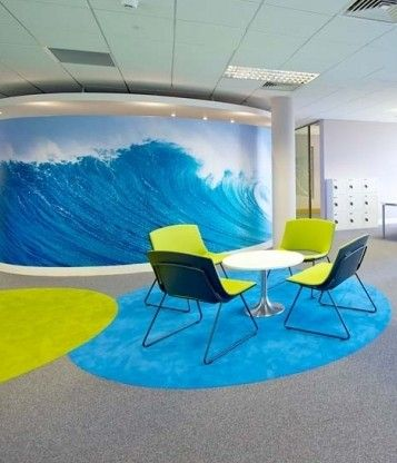 Colour, service and performance from Forbo's Tessera Teviot carpet tiles.