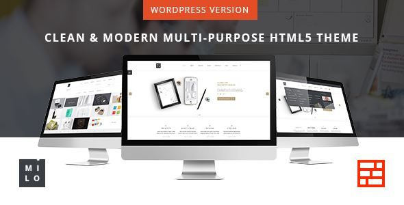 ThemeForest - Milo - Responsive & Multipurpose WordPress Theme Free Download