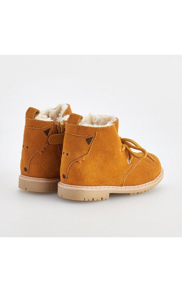 Členkové topánky, DOPLNKY, Žltá, RESERVED