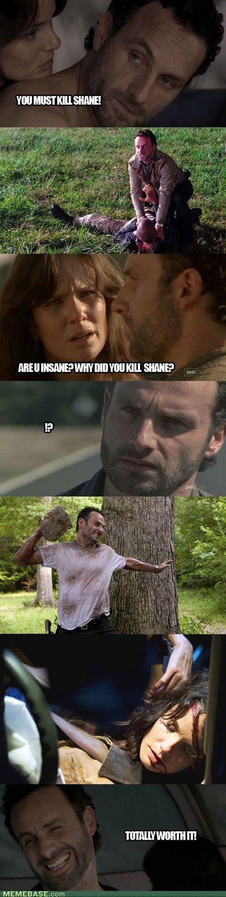 Walking Dead wishful thinking :)