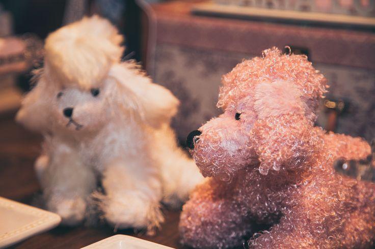 Decoração com poodle para o tema Paris.