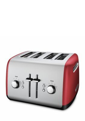 Kitchenaid  4-Slice Long Slot Toaster With High Lift Lever Kmt4116 - Red - One Size