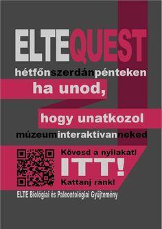 Szabó Annamária - Elte Quest plakátok - magenta változat