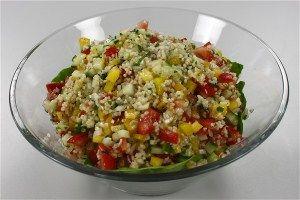 Blandet bulgur-salat (tabuleh) 4