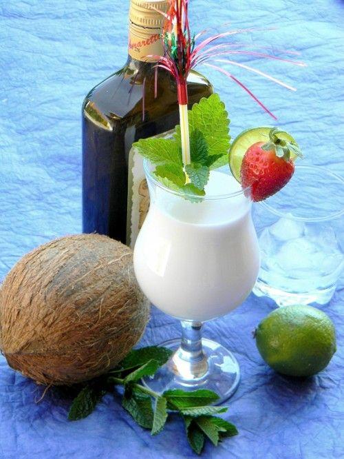 Alkoholos kókuszkoktél