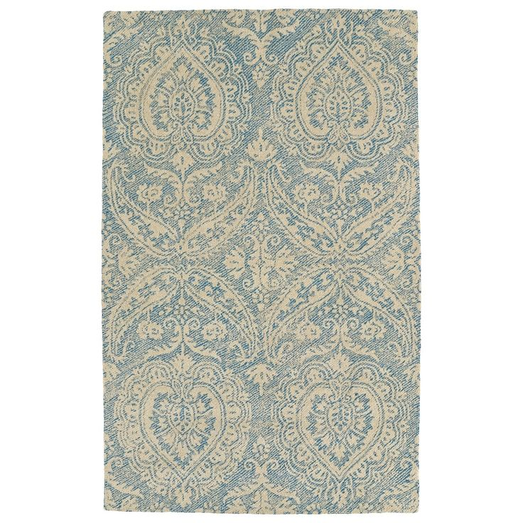 Bombay Home Robinson Blue Indoor/Outdoor Hand-tufted Rug (5' x 7'6), Size 5' x 7'6 (Polyester, Oriental)