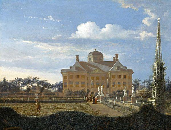 The Huis Ten Bosch At The Hague Jan van der Heyden