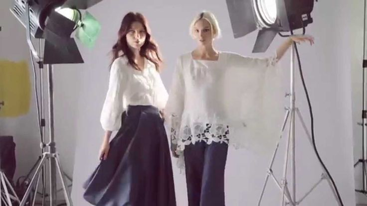Behind the Scenes of Sonia Fortuna Backstage Lookbook Spring Summer Collection 2015