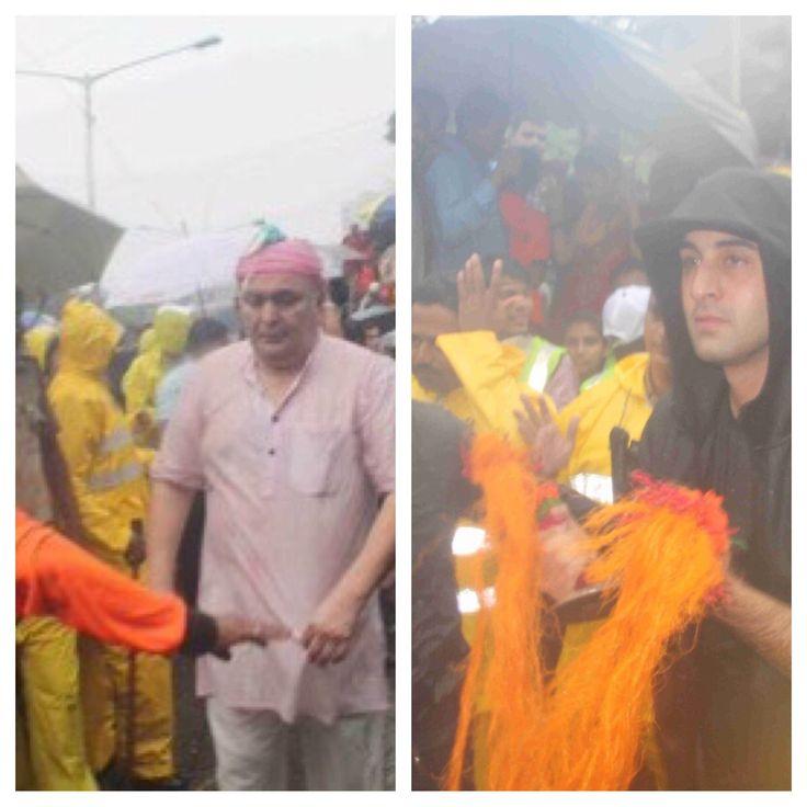 On the occasion of GANPATI VISARJAN news was rife that Rishi Kapoor and Randhir…