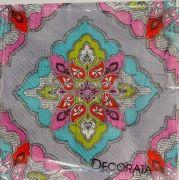 Χαρτοπετσέτα Degoypace Napkin decoupage Λαχούρι  decorata 32χ32cm λαχούρι = Σχέδια με χαρακτηριστική διακόσμηση, από το οποίο φτιάχνονται γυναικείες μαντήλες Κολεξιόν χρώματα Ανοιξης 2015 Φυστικί... Με κόλλα Degoupage JAVANA Texil POTCH Βάζετε διάφορα μοτίφ λαχούρ σε μπλούζες,στάντες,παντελόνια,παπούτσια σε Ανοιξιάτικες διακασμήσης κ.λ.π