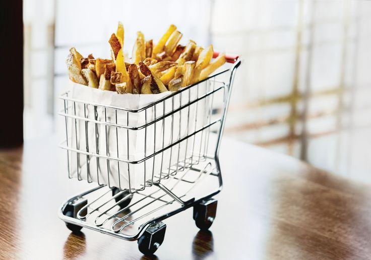 Fries (à la carte) at Delux Burger Bar