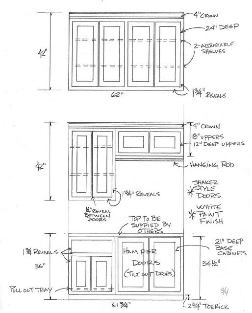 17 best images about cabinet making math on pinterest for Standard space between counter and upper cabinets
