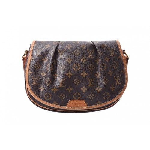 Menilmontant Brown Cloth Handbag Handbag Outfit
