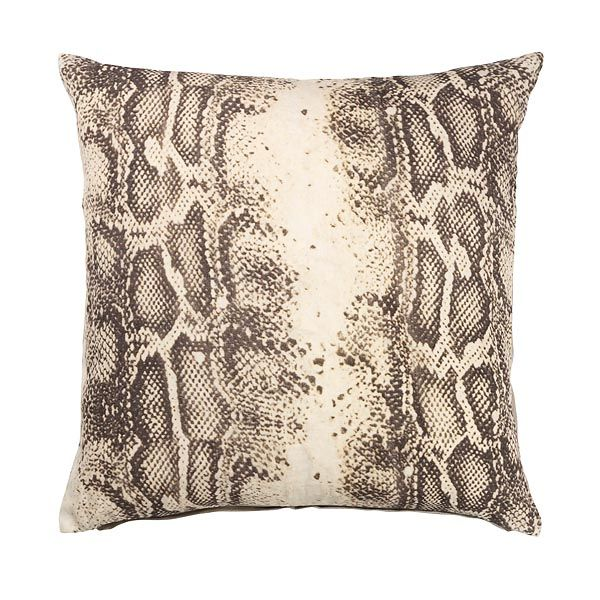 Day Home cushion cover in snake print www.day-home.dk