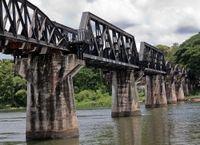 Private Tour: Thai Burma Death Railway Bridge on the River Kwai Tour from Bangkok #riverkwai #bangkok