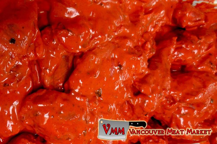 Tandoori Marinated Chicken Wings at Vancouver Meat Market