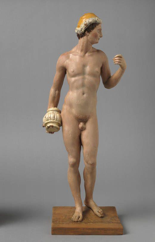 Epimeteo, 1600 - 1610.Otra de las figuras que servían de modelo a El Greco.