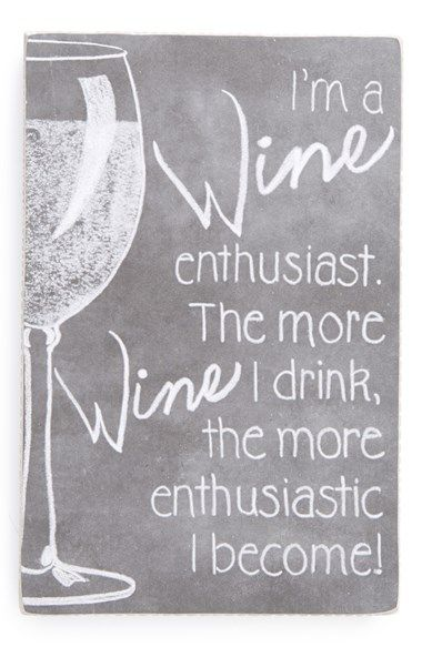 PRIMITIVES BY KATHY 'Wine Enthusiast' Box Sign available at #Nordstrom