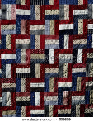 patriotic bar quilt. I think this is going the next quilt I try to make