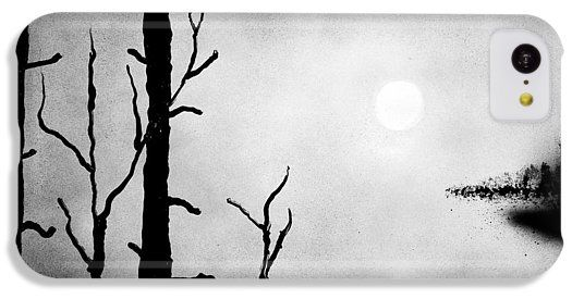 On The Edge IPhone 5c Case Printed with Fine Art spray painting image On The Edge by Nandor Molnar (When you visit the Shop, change the orientation, background color and image size as you wish)