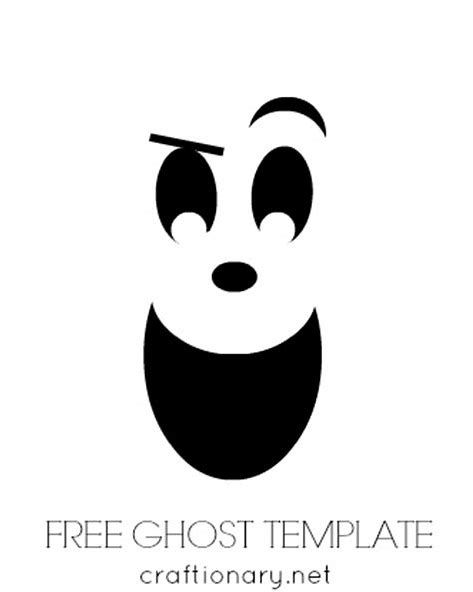 Image result for ghost face template printable Ghost faces
