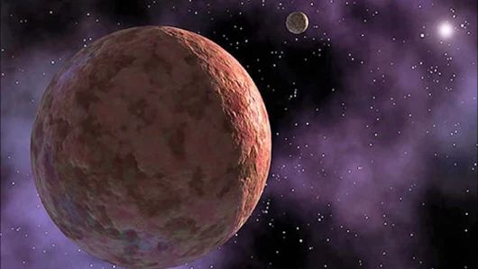Third-largest Object known Beyond Neptune, 2007 OR10, has a Moon  Another dwa...