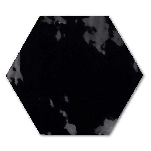 Kolekcja Vintage - płytki ścienne Hexagon Vintage Black 17,5x20,2