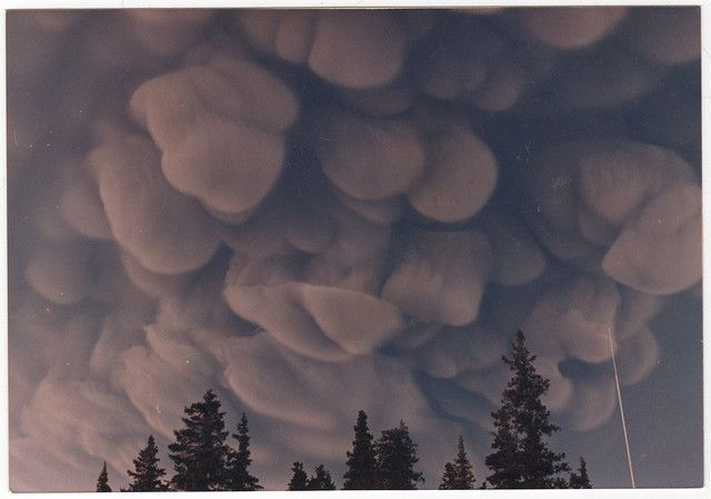 The most beautiful clouds