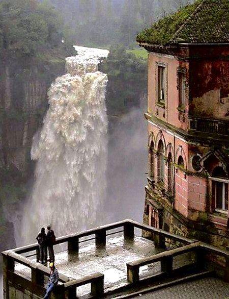 Hotel del Salto, Tequendama Falls, Bogotá River, Colombia