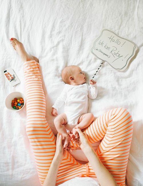 Baby Ruby #Mutterglück #Baby #GutenMorgen