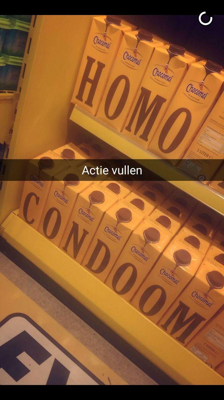 Het nieuwe pakvan Chocomel blijkt een ware inspiratiebron te zijn voor grappenmakers. Foto's van 'de enige echte' in de schappen van de supermarkt worden massaal gedeeld op social media....