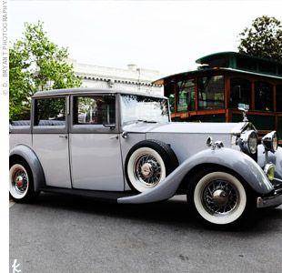 189 Best Wedding Transportation Images On Pinterest Old