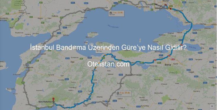 İstanbul Bandırma Üzerinden Güre'ye Nasıl Gidilir?    İstanbul'dan Güre'ye gitmek istediğiniz de birçok seçenek vardır. Bandırma üzerinden Güre'ye gitmek seçeneklerden bir tanesi. Detaylı bilgi için sayfamıza tıkla.      http://gureotelleri.otelistan.com/istanbul-bandirma-uzerinden-gureye-nasil-gidilir