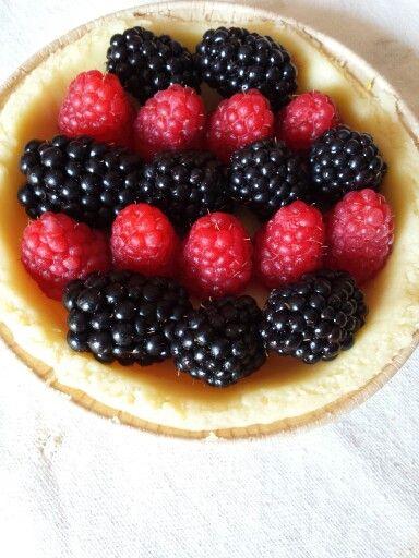 #crosta con #frutta #fresca