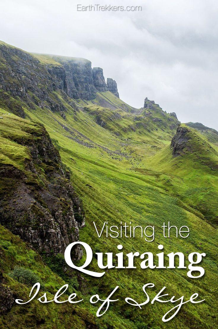 Hiking the Quiraing Isle of Skye Scotland