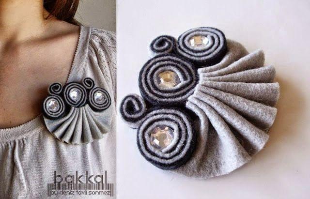 Broş Takı Tasarımlar | Cici İnci Boncuk Takı Tasarım