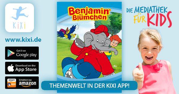 Jetzt könnt ihr in der KIXI App die Abenteuer von Benjamin Blümchen nicht nur ansehen, sondern auch anhören.