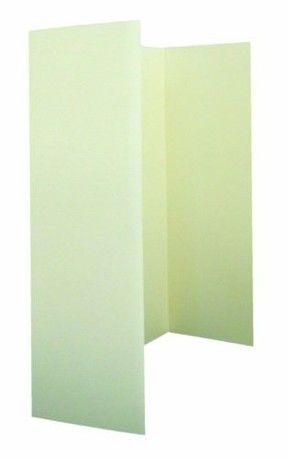 Paper State Invitations Wardrobe Card Insert - Cream (10 Sheets)