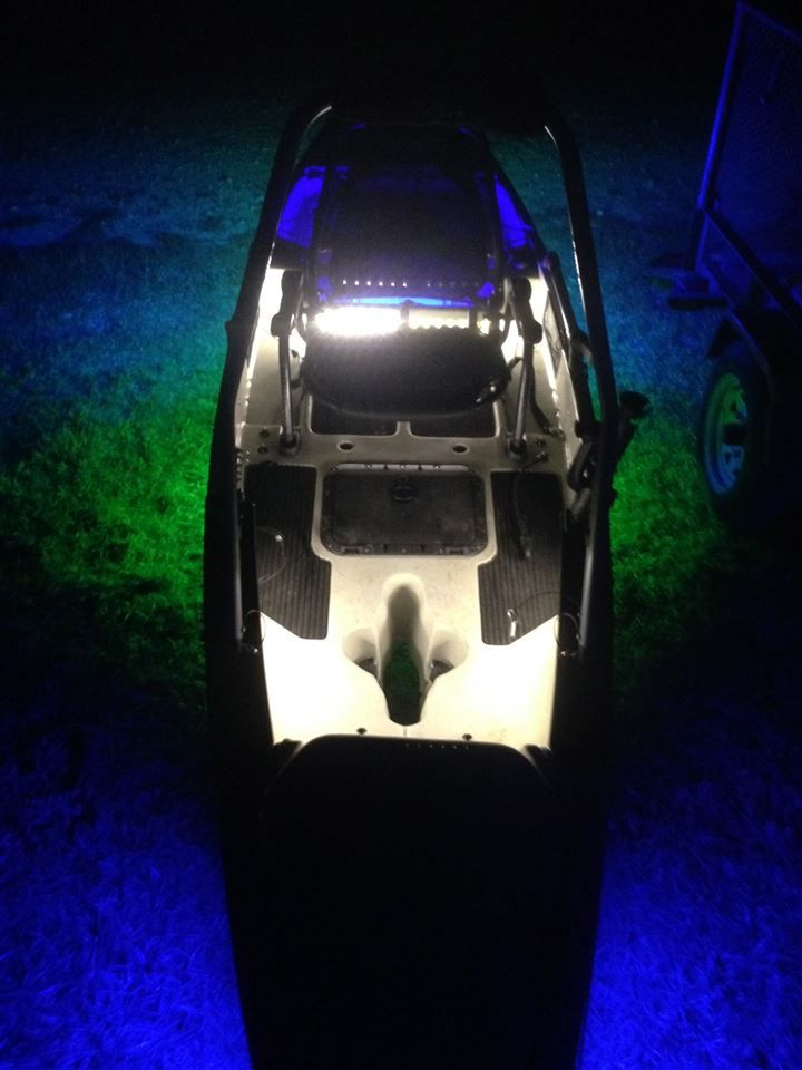 17 best images about kayak lights on pinterest radios for Best light for night fishing