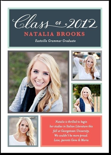 An Adorable Graduation Announcement