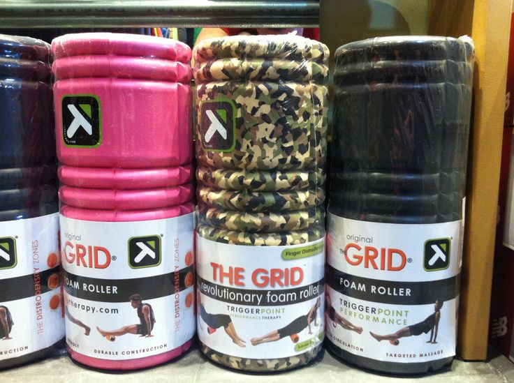 The foam roller The Grid is back in store!!!