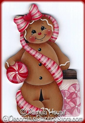 Miss Peppermint Ginger Pattern