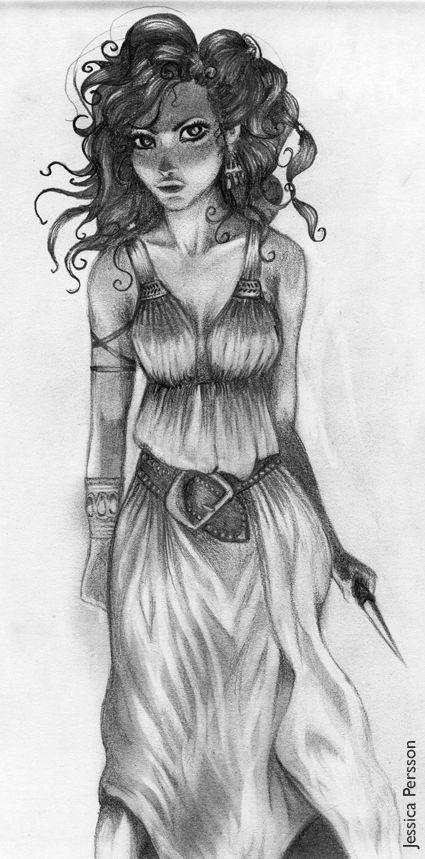 The Elfstones of Shannara | Eretria | Artwork by Jessica Persson