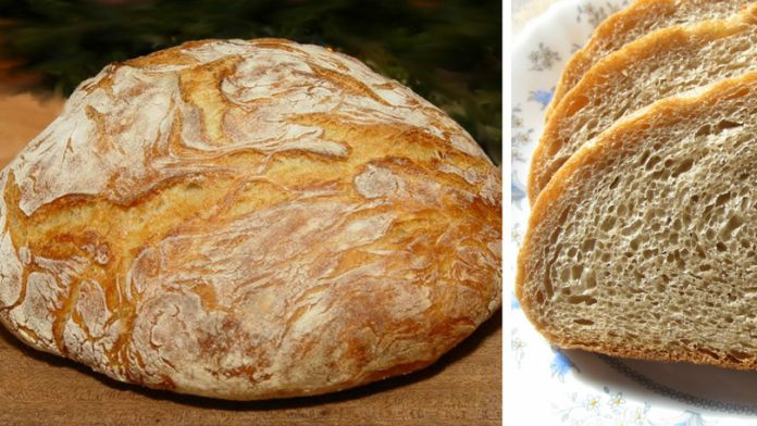 Čerstvý a křupavý domácí chléb připravený za 30 minut! – Milujeme recepty