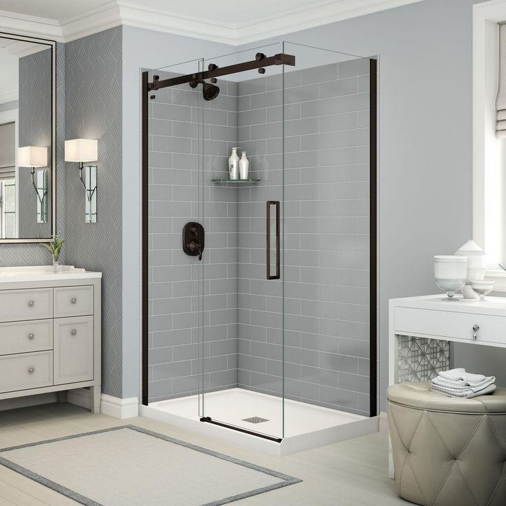 17 best ideas about corner shower kits on pinterest shower kits corner showers and walk in. Black Bedroom Furniture Sets. Home Design Ideas