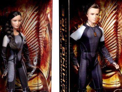 Barbie Black Label Hunger Games Katniss