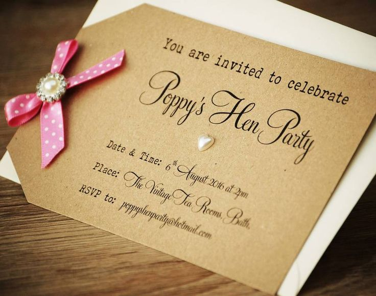 The 25 best Hens party invitations ideas – Hen Party Invitation