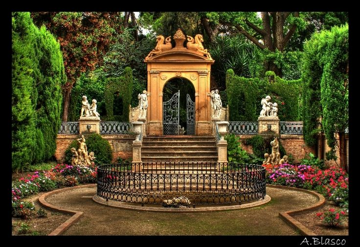 Best 111 jardines rom nticos ideas on pinterest arte de for El jardin romantico