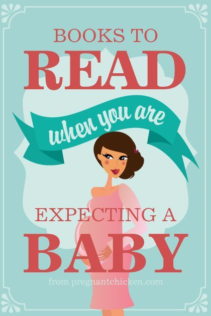 Amazing list of what books you should read when you're pregnant.